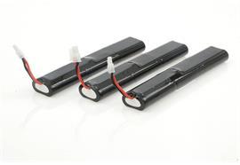 Keldan Battery Kit 3x73 Wh 11.1V for Video 18X