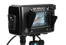 Nauticam NA-Ninja2 housing for AtomOS Ninja-2 field recorder with HDMI bulkhead and cables