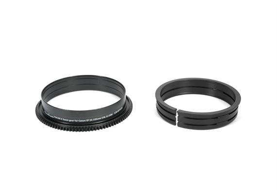 Nauticam zoom gear C2470f4-Z for Canon EF 24-70mm f/4L IS USM