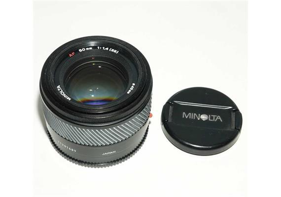 Occasion: Minolta Objektiv 50mm f1,4