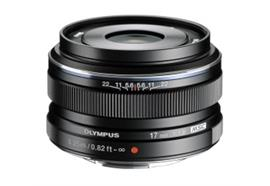 Olympus lens M.Zuiko Digital 17mm 1:1.8 (black)