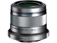Olympus lens M.Zuiko Digital 45mm 1:1.8 (silver)