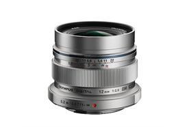 Olympus lens M.Zuiko Digital ED 12mm 1:2.0, silver