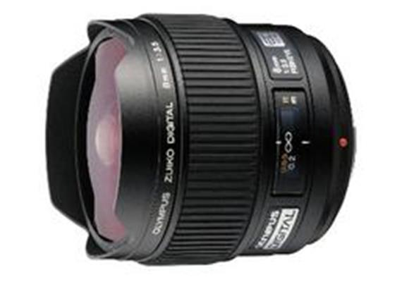 Olympus lens Zuiko Digital ED 8mm Fisheye f3,5, black