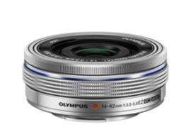 Olympus Objektiv M.Zuiko Digital ED 14-42mm EZ Pancake, silver