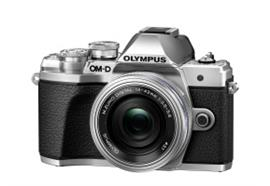 Olympus OM-D camera E-M10 III Pancake Zoom Kit 14-42 (silver/silver)
