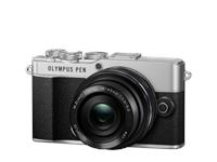 Olympus PEN E-P7 Pancake Zoom-Kit (silver/black)
