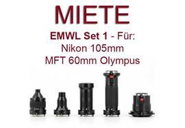 RENTAL: Nauticam EMWL Set I for Nikon and MFT