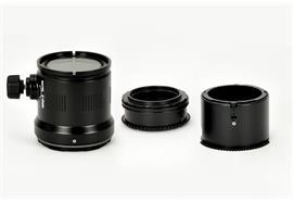 RENTAL: Nauticam Port + Zoomring für Olympus Objektiv 12-50mm