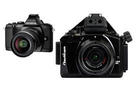 RENTAL:SET Olympus OM-D Kamera E-M5 + Nauticam UW-Gehäuse NA-EM5