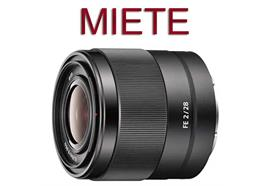 RENTAL: Sony FE 28 mm F2 (SEL28F20)