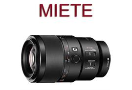 RENTAL: Sony Makro G OSS mit FE 90 mm F2,8 (SEL90M2)