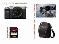 Sony Alpha A7C Kit 28-60mm silver SET