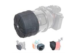 Universal silicone lens cover magnum 72-110mm diameter (2 piece)