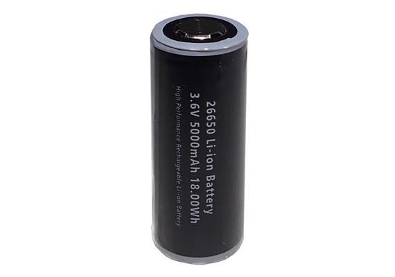 Weefine Spare Battery 26650 Li-ion 18.5W 5000mAh