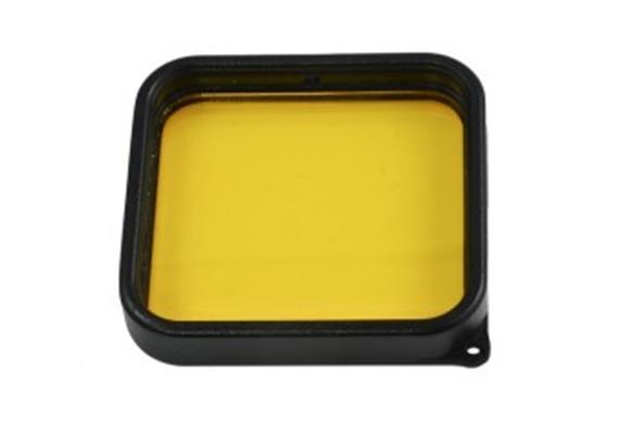 10bar filtre jaune pour GoPro Hero 5 / GoPro Hero 6
