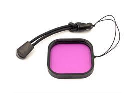 10bar filtre magenta pour GoPro Hero 8