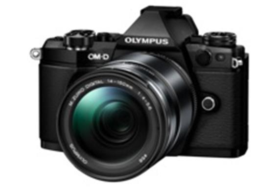 Appareil photo Olympus OM-D E-M5II Kit 14-150 EZ II (noir/noir)