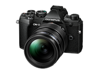Appareil photo Olympus OMD E-M5III 12-40mm Kit (noir/noir)