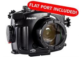 Caisson étanche Fantasea FA6500 Kit A pour Sony A6500 / A6300 (FML hublot plat 34 inclus)
