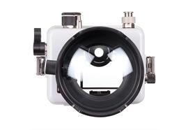 Caisson Ikelite DLM200 pour Canon 100D (hublot dôme + bague zoom pour 18-55mm inclus)