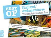 Dive-Sticker (8 Bogen mit total 96 Selbstklebe-Bildern inkl. ID in deutsch/lateinisch) - Thailand/Andamanensee