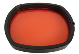 Filtre rouge G7 pour caissons Canon
