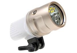 i-Torch video light Venom 35s (gold/white)