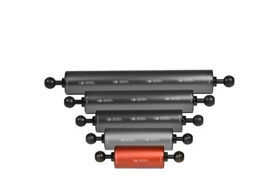 """Isotta 1"""" Ball Float Arm 100mm length, 50mm diameter (Buoyancy +100g)"""