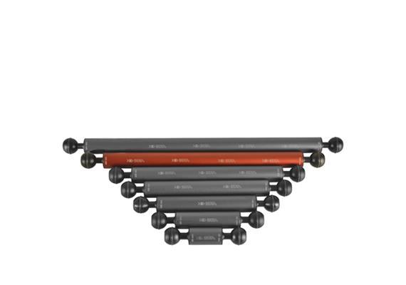 """Isotta 1"""" Ball Float Arm 300mm length, 25mm diameter (Buoyancy +51g)"""