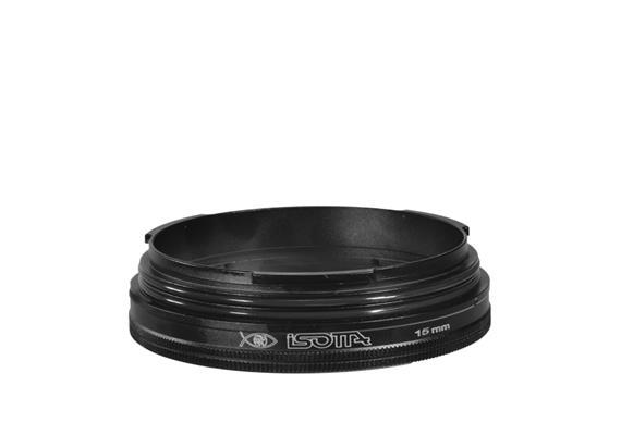 Isotta Bague d'extension 15mm pour caissons / hublots Isotta MIL
