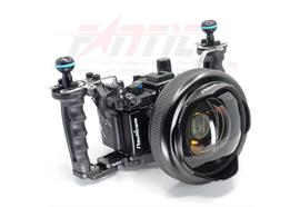 KIT grand angle pour Sony RX100 M7: Nauticam NA-RX100VII Pro Package, WWL-C, Short Port