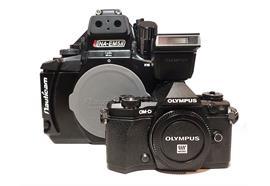 LOCATION:SET Olympus OM-D Kamera E-M5 MII+Nauticam UW-Gehäuse NA