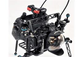 Nauticam Atomos Shogun housing mounting system