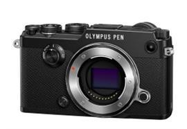 Olympus appareil numérique PEN-F Pancake Zoom Kit 14-42 (noir/noir)