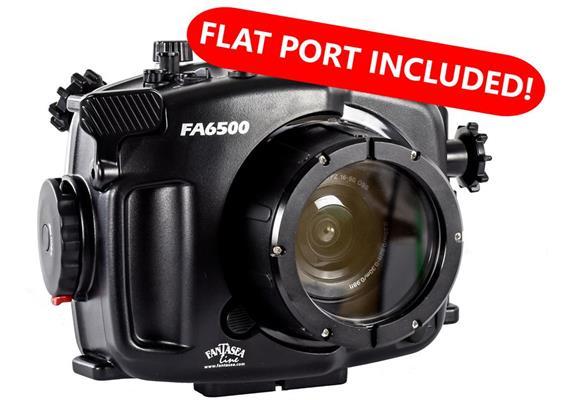 Custodia subacquea Fantasea FA6500 Kit A per Sony A6500 / A6300 (FML oblò 34 incl.)