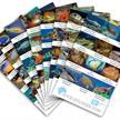 Dive-Sticker (8 Bogen mit total 96 Selbstklebe-Bildern inkl. ID in deutsch/lateinisch) - Schweiz (2 x 48 Sticker) | Bild 2