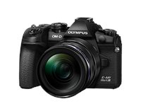 Fotocamera Olympus OM-D E-M1 Mark III 12-40mm Kit (nero/nero)