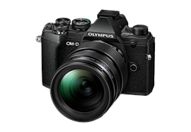 Fotocamera Olympus OMD E-M5III 12-40mm Kit (nero/nero)