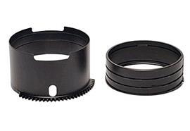 Nauticam ghiera zoom SE1855-Z per Sony SEL1855 E 18-55mm F3.5-5.6 OSS