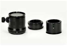 Nauticam Macro Port and zoomgear-Set for Olympus M.Zuiko 12-50mm
