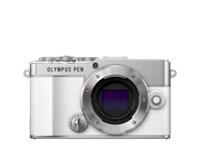 Olympus camera digitale PEN E-P7, Body (Bianco)