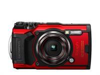 Olympus camera digitale Tough TG-6 (rosso)