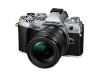 Olympus E-M5 Mark III 12-45 Kit argento/nero