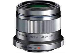 Olympus obiettivo M.Zuiko Digital 45mm 1:1.8 (argento)