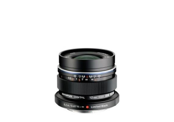 Olympus obiettivo M.Zuiko Digital ED 12mm 1:2.0, nero