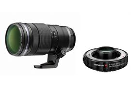 Olympus Objektiv M.Zuiko 40-150mm f/2.8 PRO + Telekonverter 1.4