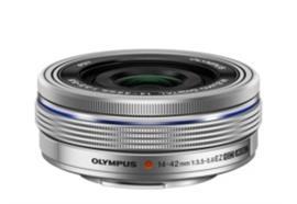 Olympus Objektiv M.Zuiko Digital ED 14-42mm EZ Pancake, argento