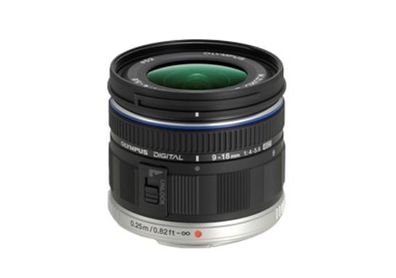 Olympus Objektiv M.Zuiko Digital ED 9-18mm 1:4.0-5.6, schwarz
