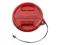 Olympus red Front Cap PRLC-14 for Olympus Housing PT-053, PT-055, PT-058, PT-059